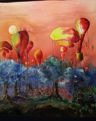 Balloon Fantasy Art Print by David Ignaszewski