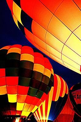 Balloon Glow 1 Art Print by Marty Koch