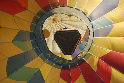Balloon Over Me Art Print by Alan Holbrook
