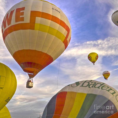 Balloon Ride Art Print by Heiko Koehrer-Wagner