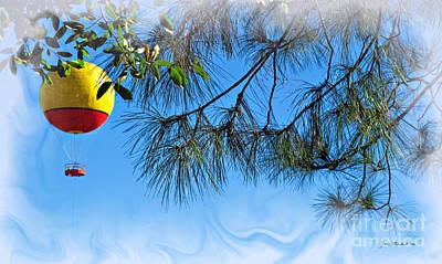 Photograph - Balloon Ride by Joan  Minchak