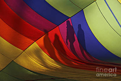 Photograph - Balloon Shadows by Shawn Naranjo