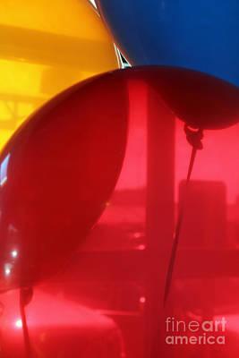 Photograph - Balloon Window by Alycia Christine