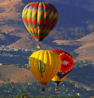 Balloons Over Reno Art Print