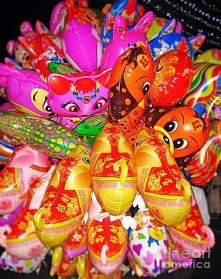 Balloons Art Print by Thanh Tran