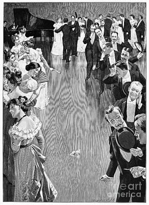Ballroom, C1900 Art Print by Granger