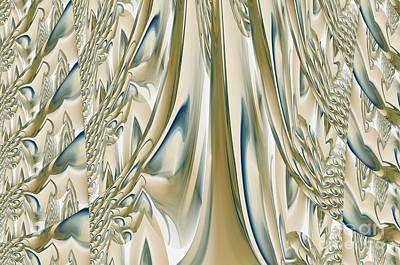 Ballroom Gown Art Print by Maria Urso