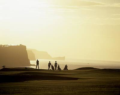 Ballycastle Photograph - Ballycastle Golf Club, Co Antrim by The Irish Image Collection
