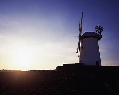 Ballycopeland Windmill, Co. Down Art Print by The Irish Image Collection