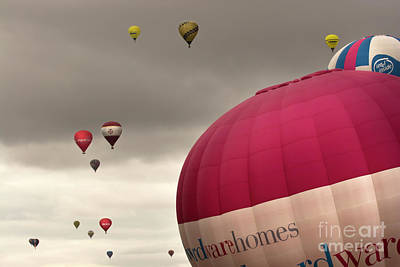 Baloons Art Print by Angel  Tarantella