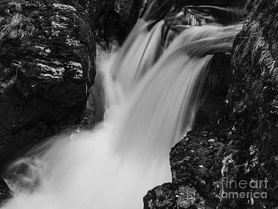 Photograph - Balquhidder Falls by Michael Canning
