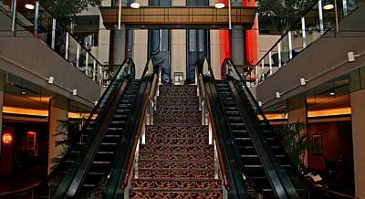 Pasta Al Dente - Baltimore Stairway by Karen Harrison Brown