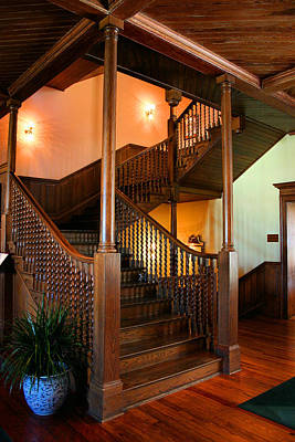 Balusters Photograph - Balustrade by Kristin Elmquist