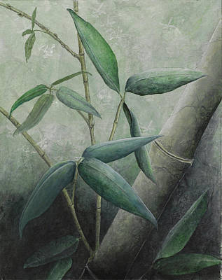 Painting - Bamboo 1 by Sandy Clift