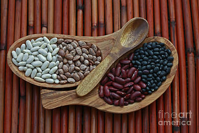 Bamboo And Beans Art Print