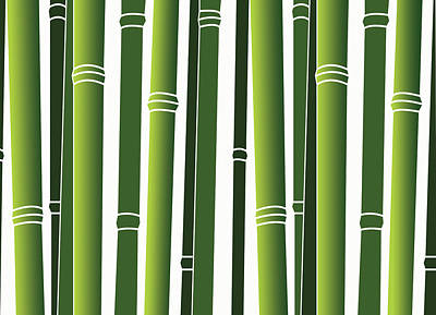 Bamboo Art Print by Jessica Rost