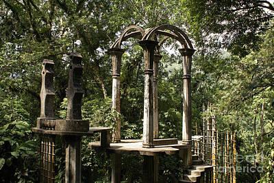 Photograph - Bamboo Palace Las Pozas Mexcio by John  Mitchell