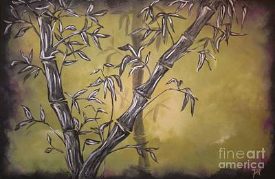 Painting - Bamboo  by Patti Spires Hamilton