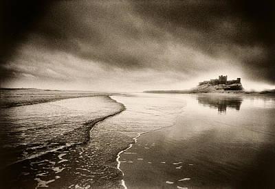 Photograph - Bamburgh Castle by Simon Marsden