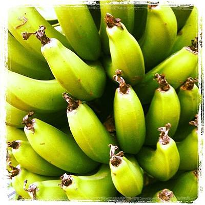 Banana Wall Art - Photograph - #banana #fruit #iphonephoto by Avatar Pics