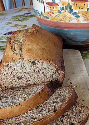 Photograph - Banana Nut Bread by Janice Drew