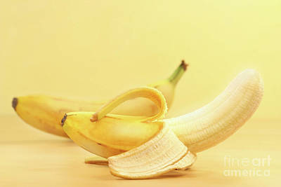 Banana Wall Art - Photograph - Bananas by Sandra Cunningham