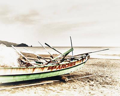 Banca Boat Art Print by Skip Nall