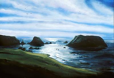 Painting - Bandon Beach by Richard Mordecki