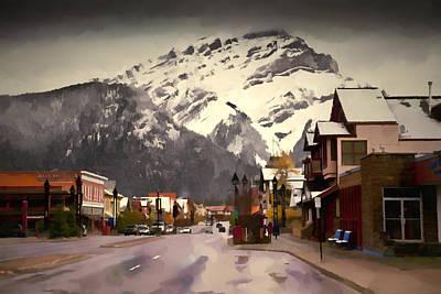 Kids Alphabet - Banff Alberta Canada by Diane Dugas