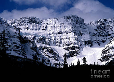 Abstract Graphics - Banff National Park In Spring by Terry Elniski