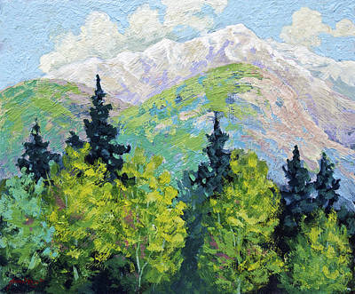 Painting - Banff National Park by Marion Rose