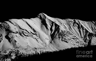 Banff National Park Monochrome Art Print by Terry Elniski