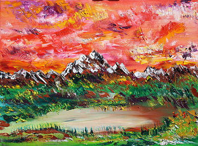 Painting - Banff Revisited by James Bryron Love