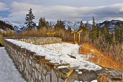 Photograph - Banff Scene by Johanna Bruwer