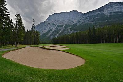 Photograph - Banff Springs Golf Course by Bernard Chen