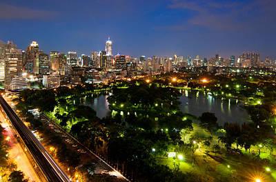 Y120831 Photograph - Bangkok City by Nutexzles