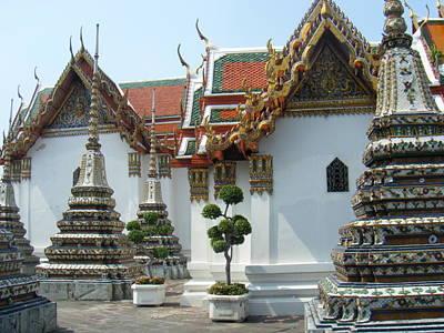 Bangkok Tample Art Print