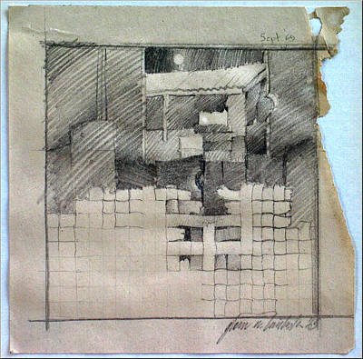 Drawing - Banigcomp 1969 by Glenn Bautista