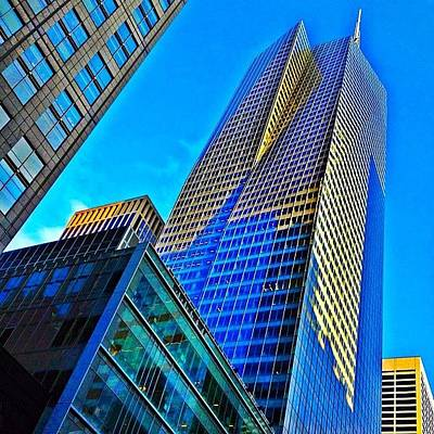 Skyscrapers Photograph - Bank Of America Tower - Ny  by Joel Lopez