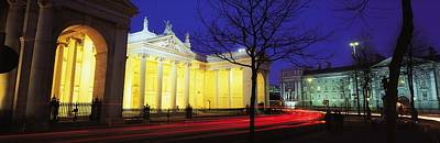 Bank Of Ireland, College Green, Dublin Art Print by The Irish Image Collection