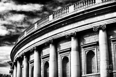 Bank Of Ireland Art Print by John Rizzuto