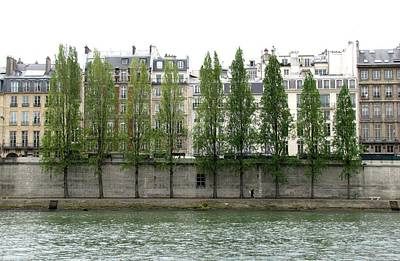 Photograph - Bank Of The Seine by Keith Stokes