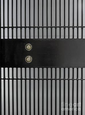 Bank Vault Gate Art Print by Adam Crowley