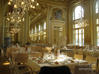 Banquet Hall Musee De Orsay Original by AnneKarin Glass