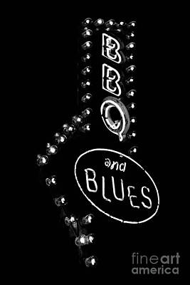 Digital Art - Bar B Que And Blues by Susan Stone