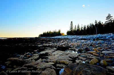 Photograph - Bar Harbor Coastline by Laura DAddona