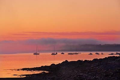 Bar Harbor Dawn Original by Steve Gadomski