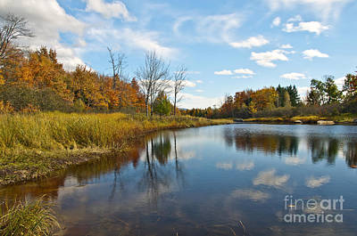 Sky Photograph - Bar Harbor Maine Fall by Glenn Gordon