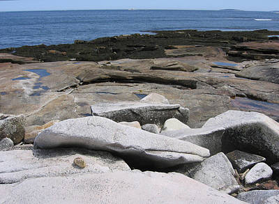 Photograph - Bar Harbor Seashore by J R Baldini M Photog Cr