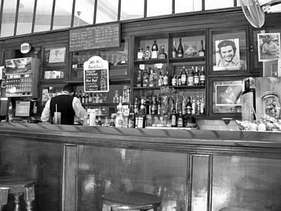 Art Print featuring the photograph Bar In Old Havana by Lynn Bolt